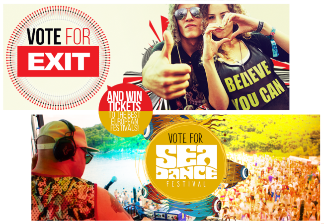 Every vote counts for Exit Festival on European Festival Awards
